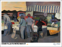 The Market farmers market poster