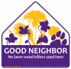 Good Neighbor panther sign