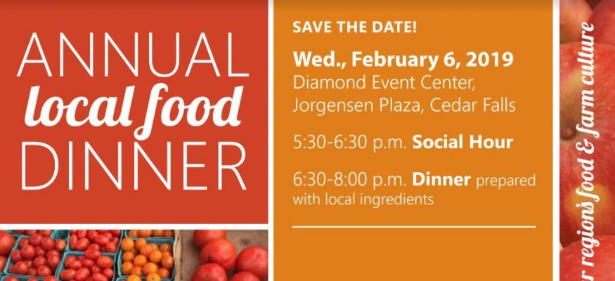Local Food Dinner February 6, 2019